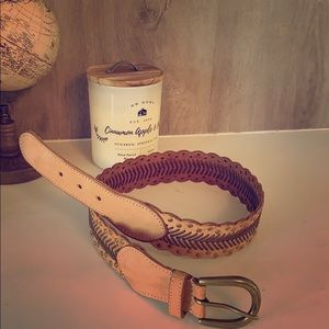 Anthropology leather belt